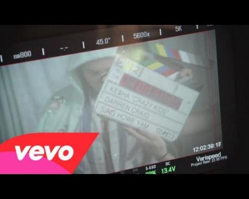 Ke$ha - Crazy Kids (Behind The Scenes)