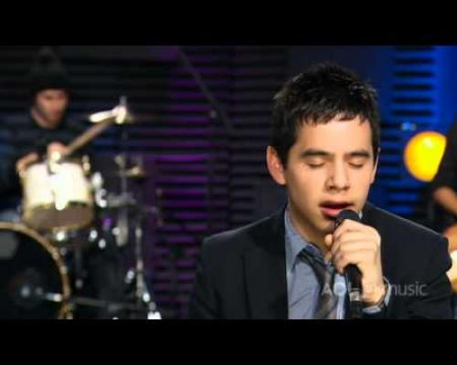David Archuleta - You Can (Sessions@AOL)