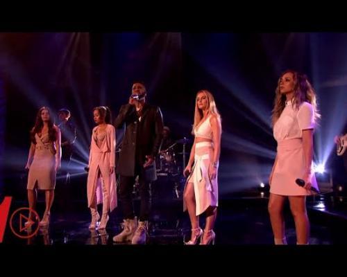 Little Mix ft. Jason Derulo - Secret Love Song | LIVE Graham Norton 2016 Feb. 12
