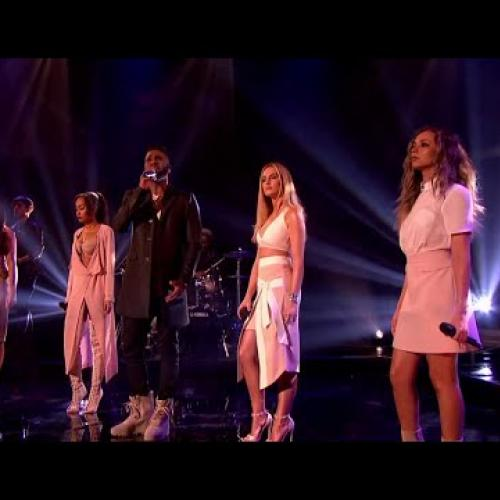 Little Mix ft. Jason Derulo - Secret Love Song | LIVE Graham Norton 2016 Feb. 12